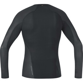 GORE WEAR Windstopper Baselayer Longsleeve Top Heren, black